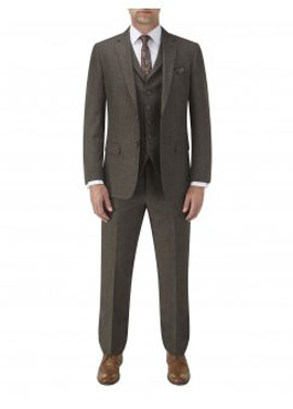 Tommy Brown Suit