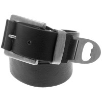 Black Bottle Opener Belt