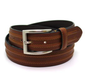 Brown Raised Belt