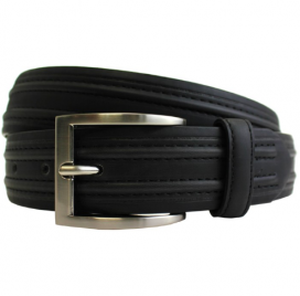 Black Raised Belt