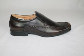 Dark Brown Slip On