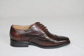 Childrens Dark Brown Brogue