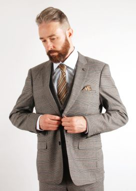 Grey James Marc Darcy 3 Piece Suit